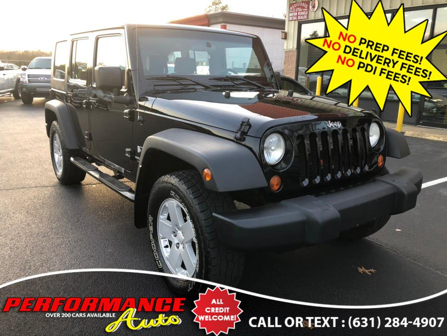 Used Jeep Wrangler Unlimited 4WD 4dr Unlimited X 2007 | Performance Auto Inc. Bohemia, New York