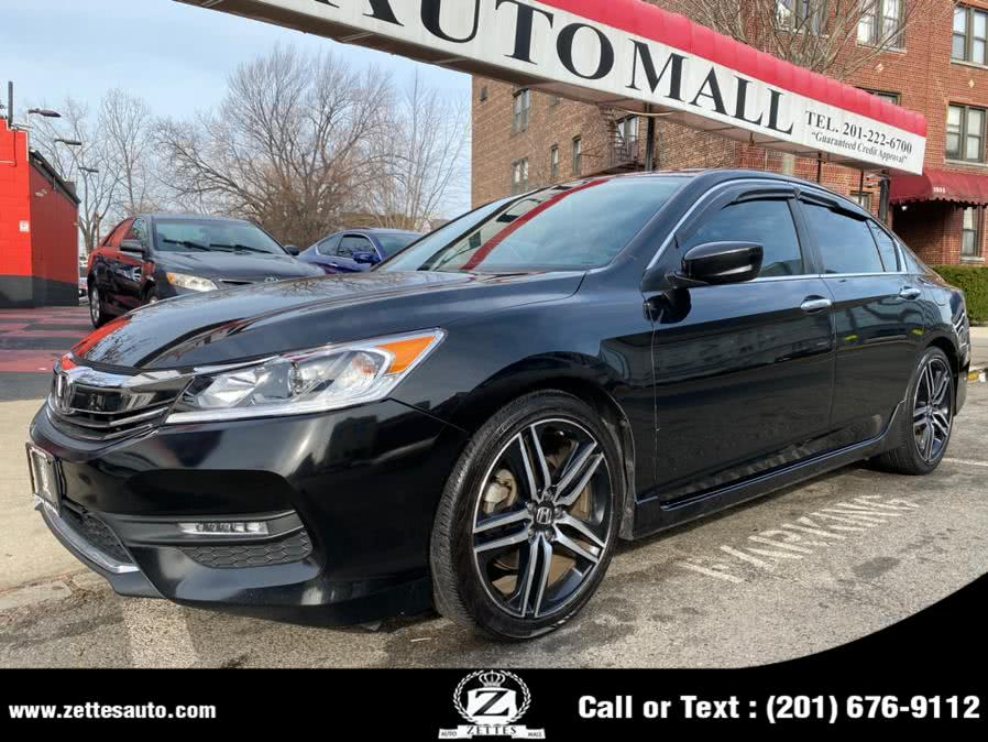 Used Honda Accord Sedan Sport CVT 2017 | Zettes Auto Mall. Jersey City, New Jersey