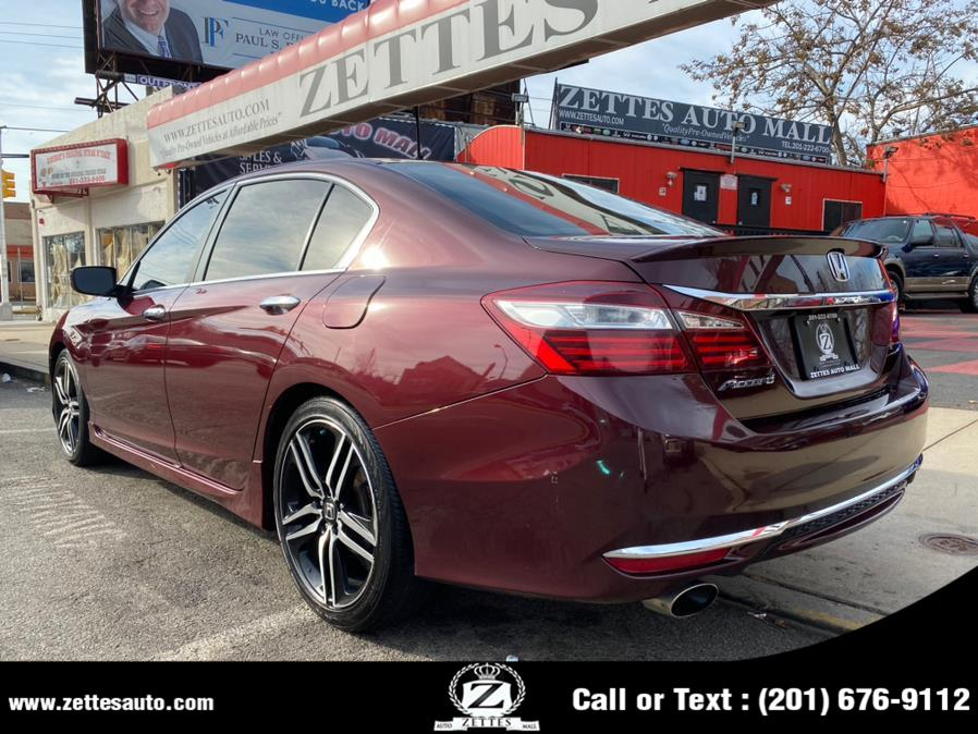 Used Honda Accord Sedan 4dr I4 CVT Sport 2016 | Zettes Auto Mall. Jersey City, New Jersey