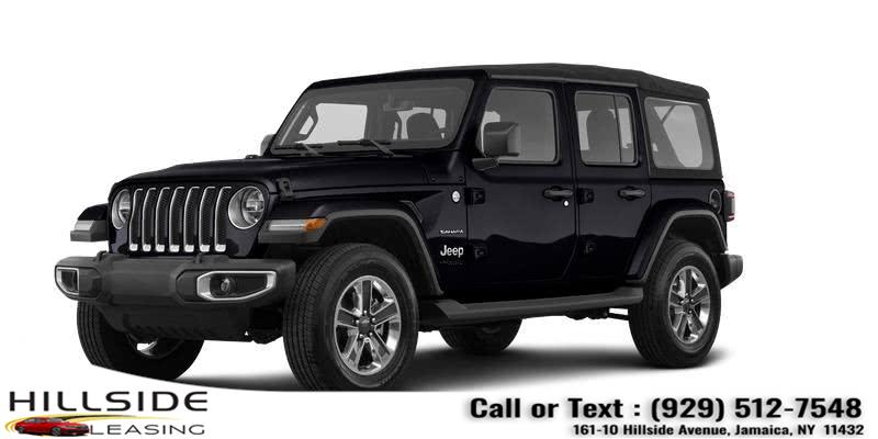 Used Jeep Wrangler Sahara Unlimited 4x4 2020 | Hillside Auto Outlet. Jamaica, New York