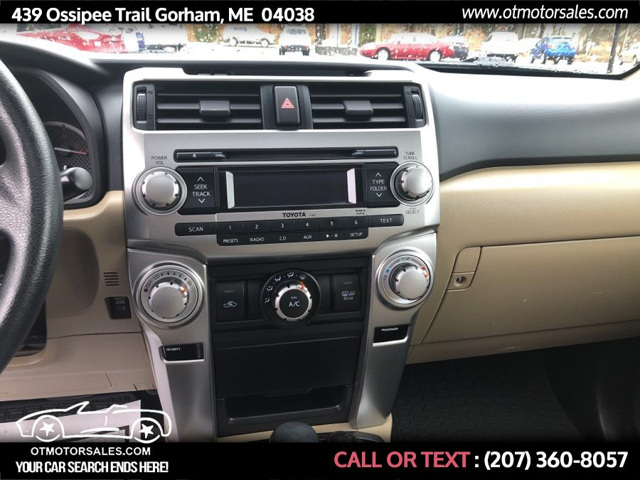 Used Toyota 4Runner SR5 2011   Ossipee Trail Motor Sales. Gorham, Maine