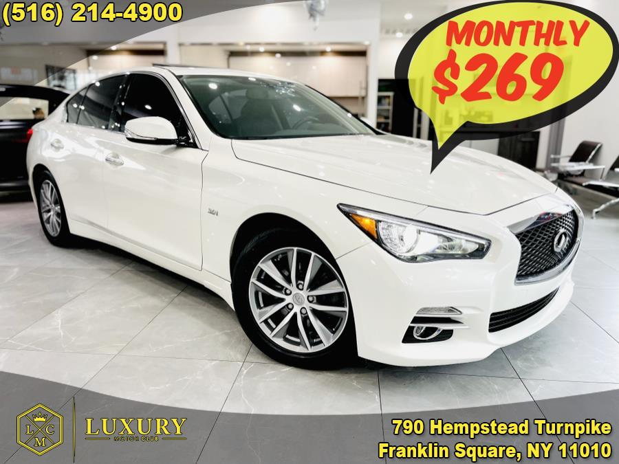 2016 INFINITI Q50 4dr Sdn 3.0t Premium AWD, available for sale in Franklin Square, NY
