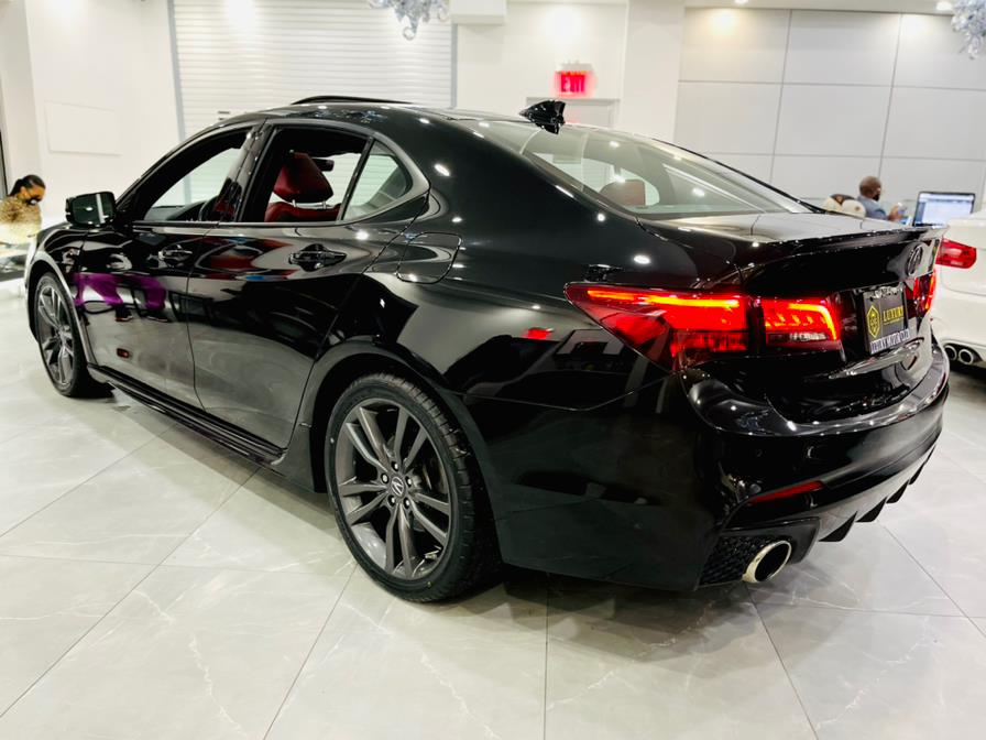 Used Acura TLX V6 A-Spec Red 2018 | Luxury Motor Club. Franklin Square, New York