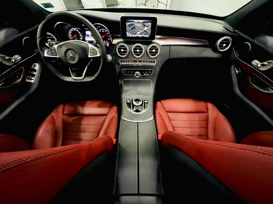 Used Mercedes-Benz C-Class C300 4MATIC Sedan with Sport Pkg 2017 | Luxury Motor Club. Franklin Square, New York