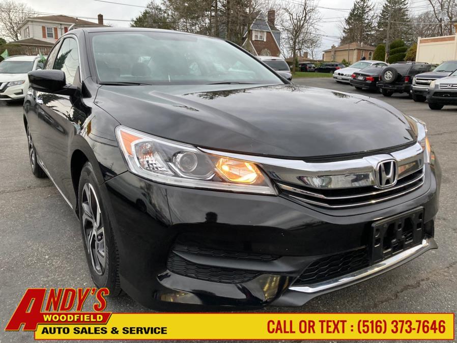 Used Honda Accord Sedan LX CVT 2017   Andy's Woodfield. West Hempstead, New York