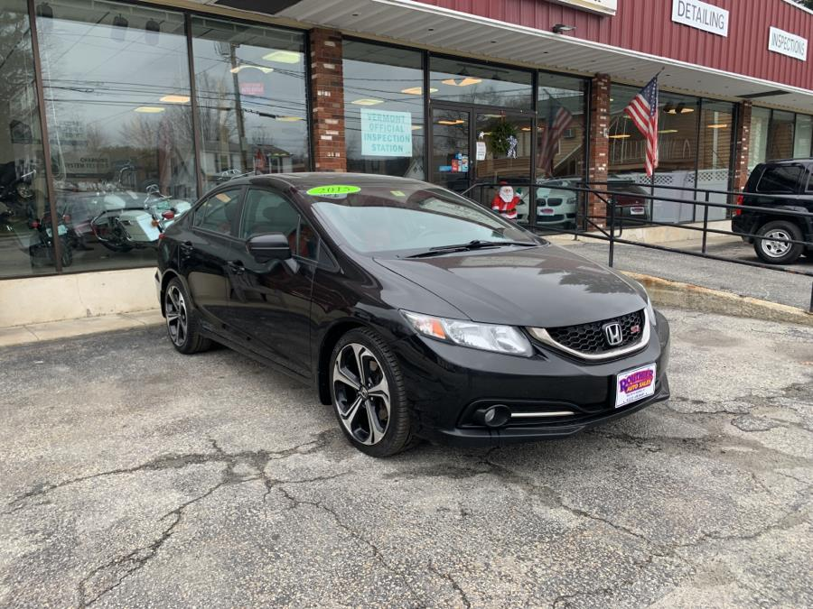Used 2015 Honda Civic Sedan in Barre, Vermont | Routhier Auto Center. Barre, Vermont