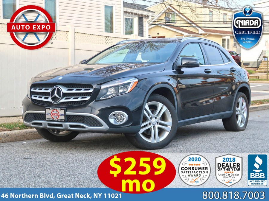 Used 2018 Mercedes-benz Gla in Great Neck, New York | Auto Expo Ent Inc.. Great Neck, New York