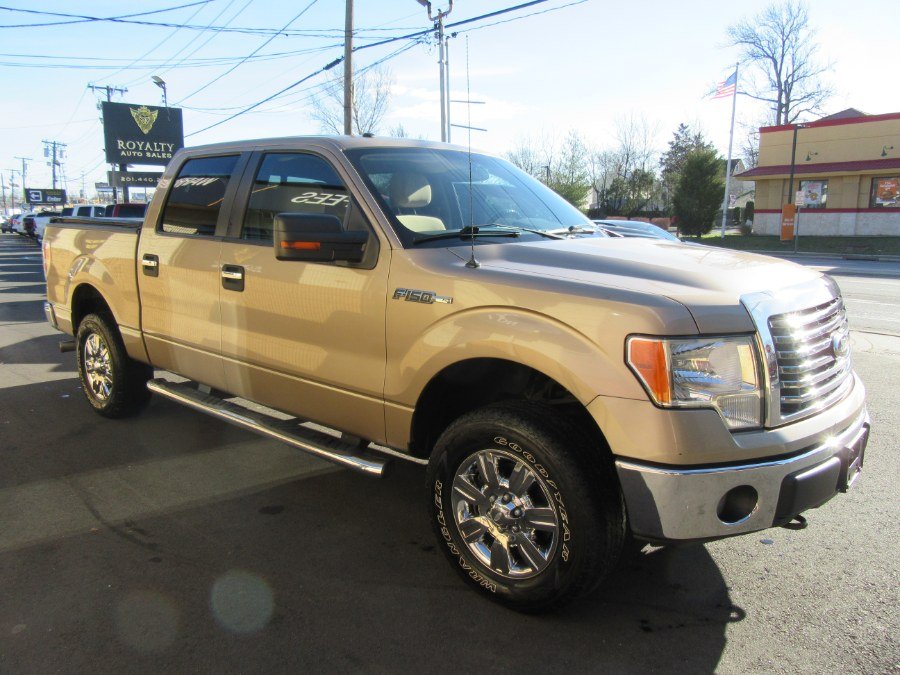 """Used Ford F-150 4WD SuperCrew 145"""" XLT 2012 