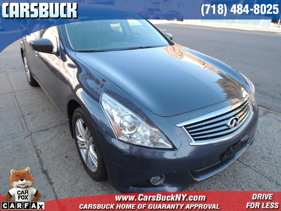 Used 2012 INFINITI G37 Sedan in Brooklyn, New York | Carsbuck Inc.. Brooklyn, New York