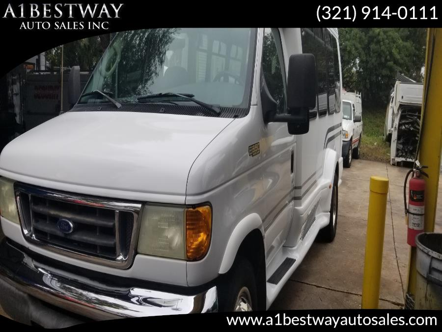 Used 2005 Ford E 350 HANDICAP WHEEL LIFT in Melbourne , Florida | A1 Bestway Auto Sales Inc.. Melbourne , Florida