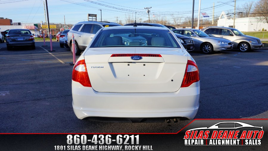 Used Ford Fusion 4dr Sdn S FWD 2012 | Silas Deane Auto LLC. Rocky Hill , Connecticut