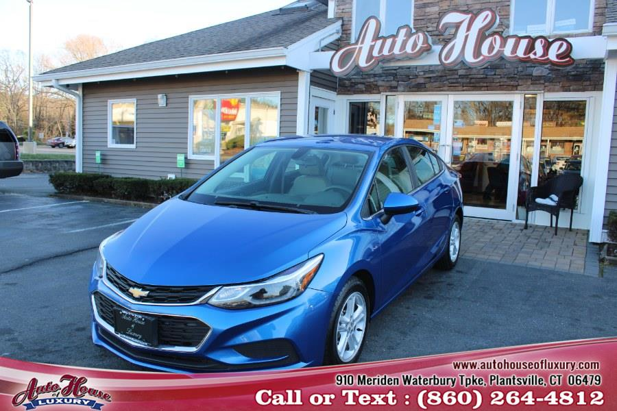 Used 2016 Chevrolet Cruze in Plantsville, Connecticut | Auto House of Luxury. Plantsville, Connecticut