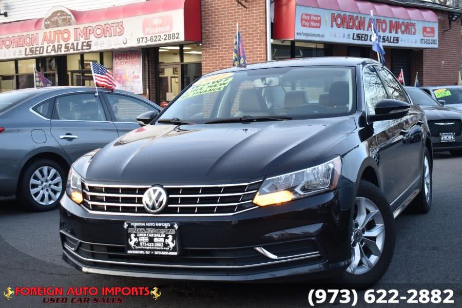 Used 2017 Volkswagen Passat in Irvington, New Jersey | Foreign Auto Imports. Irvington, New Jersey