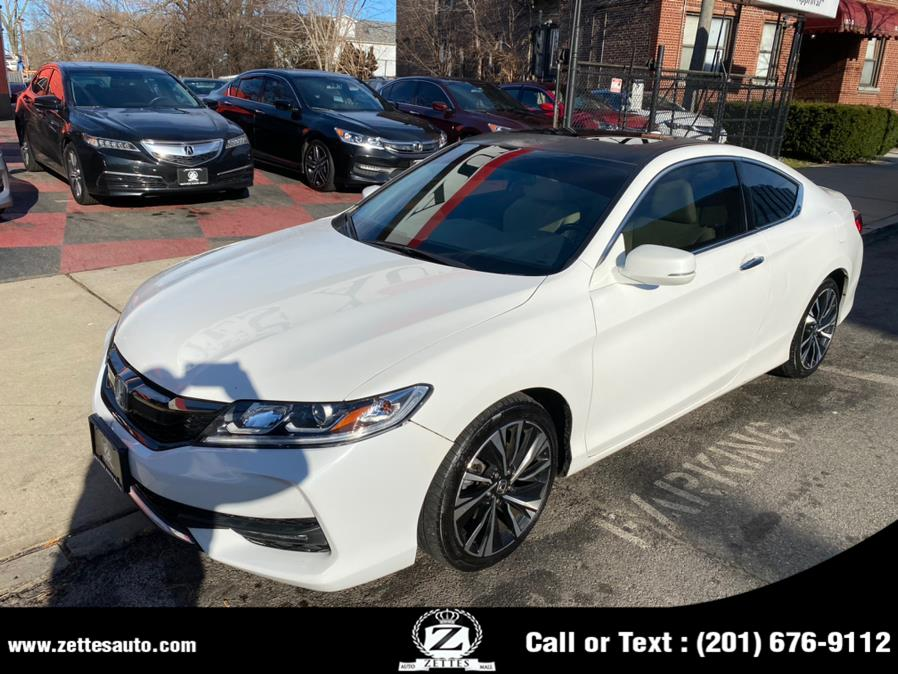 Used Honda Accord Coupe 2dr I4 CVT EX-L 2016 | Zettes Auto Mall. Jersey City, New Jersey