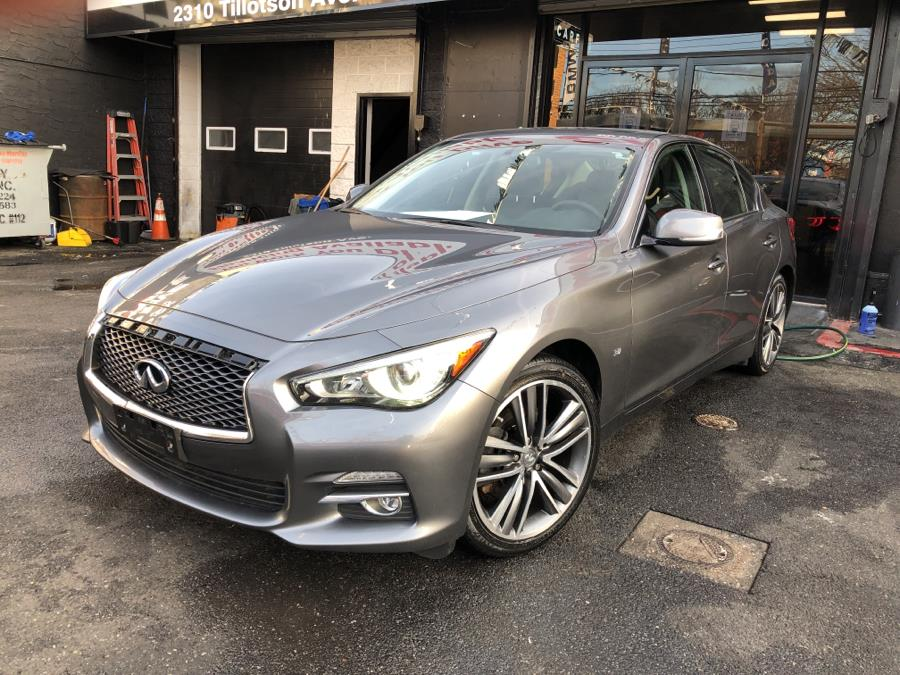Used 2015 INFINITI Q50 in Bronx, New York | Champion Auto Sales Of The Bronx. Bronx, New York