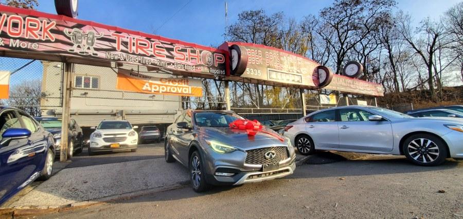 Used INFINITI QX30 Premium AWD 2017 | Rubber Bros Auto World. Brooklyn, New York
