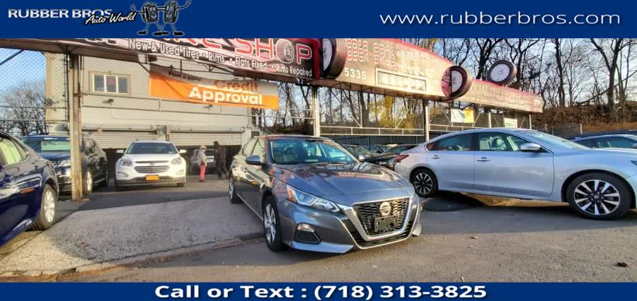Used Nissan Altima 2.5 S Sedan 2019 | Rubber Bros Auto World. Brooklyn, New York