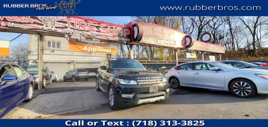 Used 2016 Land Rover Range Rover Sport in Brooklyn, New York | Rubber Bros Auto World. Brooklyn, New York