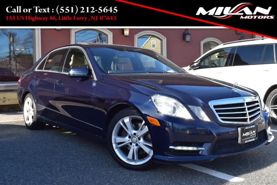 Used Mercedes-Benz E-Class 4dr Sdn E350 Luxury 4MATIC *Ltd Avail* 2013 | Milan Motors. Little Ferry , New Jersey