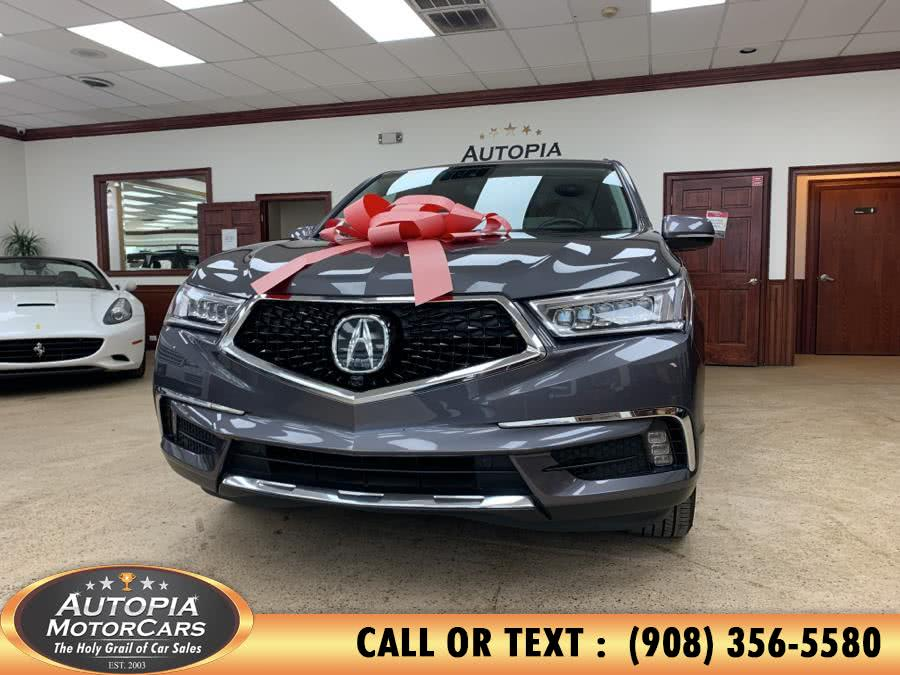 Used Acura MDX SH-AWD w/Advance Pkg 2017 | Autopia Motorcars Inc. Union, New Jersey