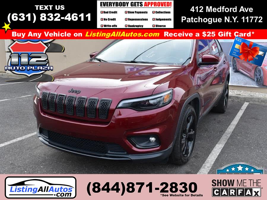 Used Jeep Cherokee Altitude FWD 2019 | www.ListingAllAutos.com. Patchogue, New York
