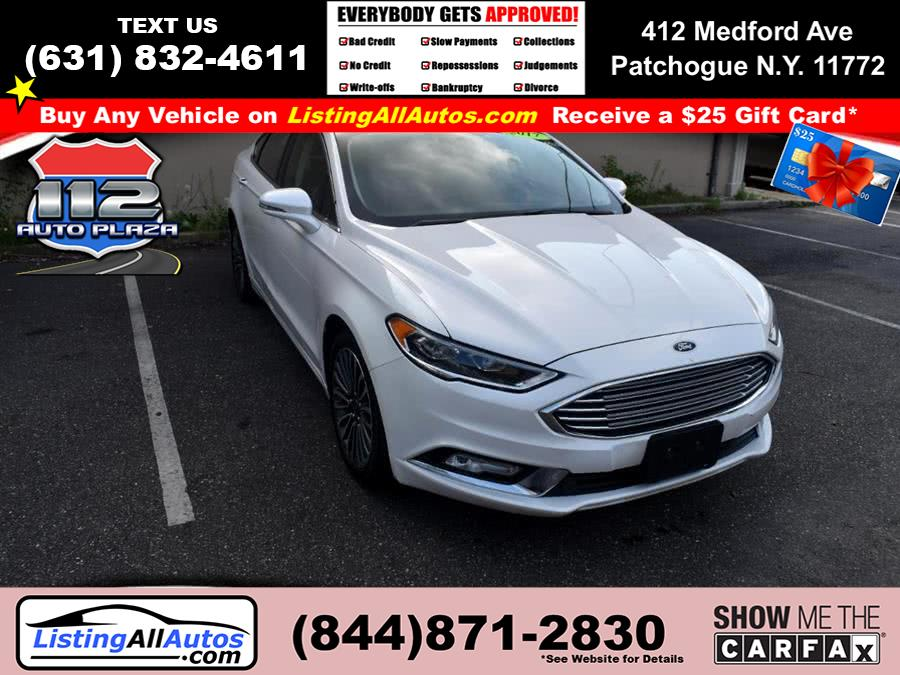 Used Ford Fusion SE AWD 2017 | www.ListingAllAutos.com. Patchogue, New York