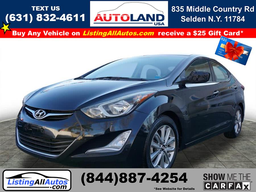 Used 2014 Hyundai Elantra in Patchogue, New York | www.ListingAllAutos.com. Patchogue, New York