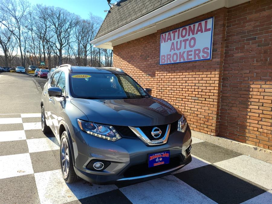Used 2016 Nissan Rogue in Waterbury, Connecticut | National Auto Brokers, Inc.. Waterbury, Connecticut