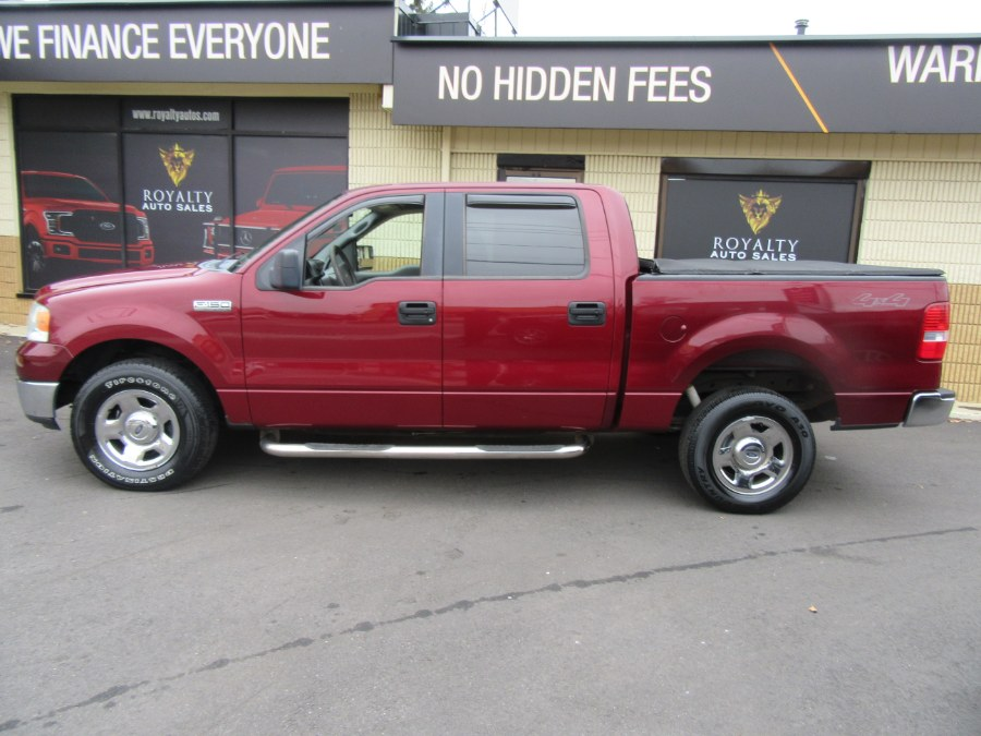 """Used Ford F-150 SuperCrew 139"""" XLT 4WD 2005   Royalty Auto Sales. Little Ferry, New Jersey"""