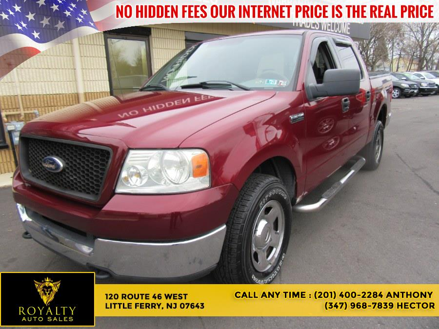 Used 2005 Ford F-150 in Little Ferry, New Jersey | Royalty Auto Sales. Little Ferry, New Jersey