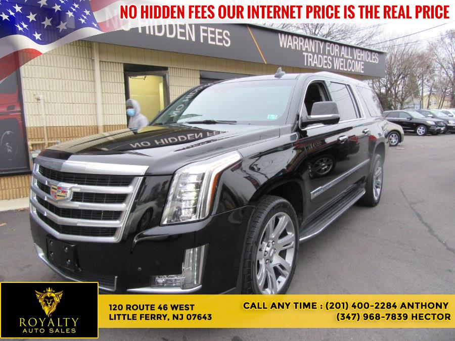 Used 2015 Cadillac Escalade ESV in Little Ferry, New Jersey | Royalty Auto Sales. Little Ferry, New Jersey