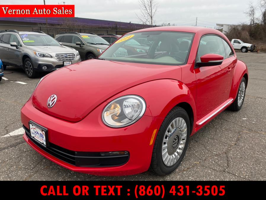 Used Volkswagen Beetle Coupe 2dr Auto 1.8T PZEV 2014 | Vernon Auto Sale & Service. Manchester, Connecticut