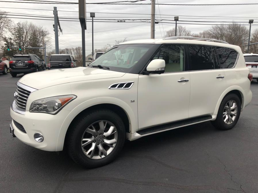 Used 2014 Infiniti QX80 in Milford, Connecticut | Chip's Auto Sales Inc. Milford, Connecticut