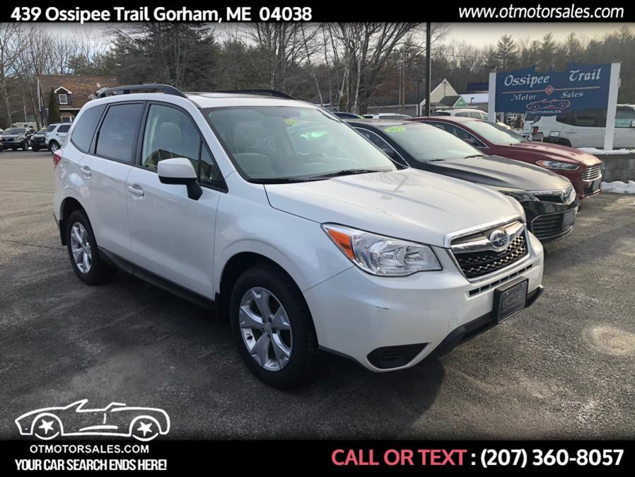 Used 2015 Subaru Forester in Gorham, Maine | Ossipee Trail Motor Sales. Gorham, Maine