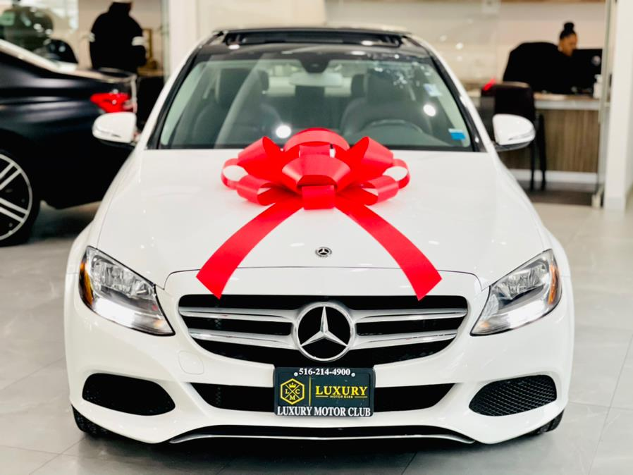 Used Mercedes-Benz C-Class 4dr Sdn C 300 Sport 4MATIC 2016 | Luxury Motor Club. Franklin Square, New York