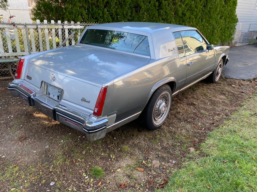 Used Cadillac Eldorado 2dr Coupe 1985 | Cars With Deals. Lyndhurst, New Jersey