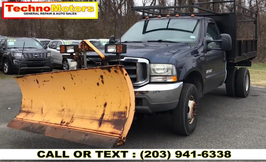 """Used Ford Super Duty F-350 DRW Reg Cab 141"""" WB 60"""" CA XL 4WD 2003   Techno Motors . Danbury , Connecticut"""