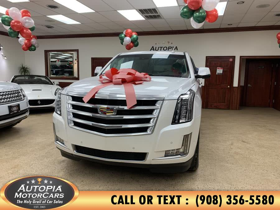 Used Cadillac Escalade 4WD 4dr Luxury 2017   Autopia Motorcars Inc. Union, New Jersey