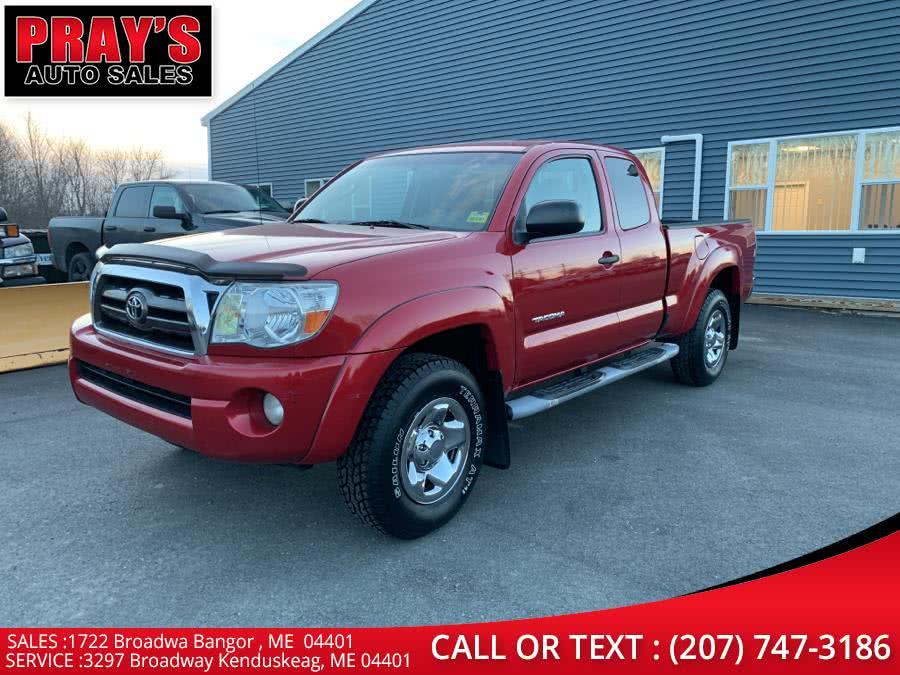 Used Toyota Tacoma 4WD Access V6 AT (Natl) 2009 | Pray's Auto Sales . Bangor , Maine