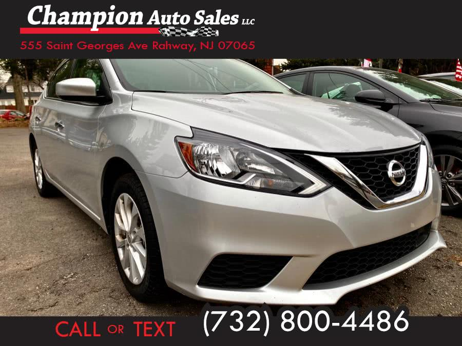 Used 2019 Nissan Sentra in Rahway, New Jersey | Champion Auto Sales. Rahway, New Jersey