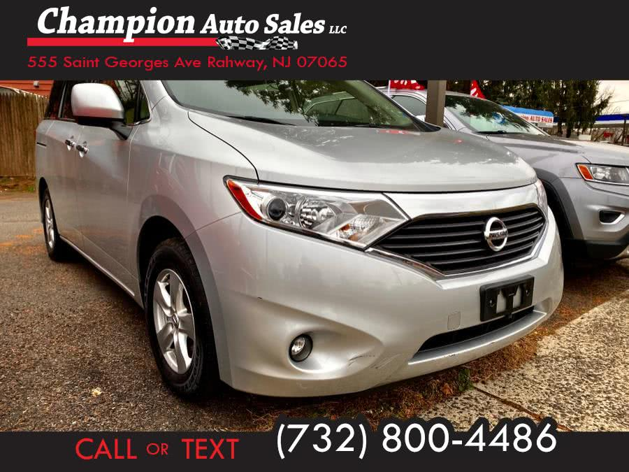 Used 2017 Nissan Quest in Rahway, New Jersey | Champion Auto Sales. Rahway, New Jersey