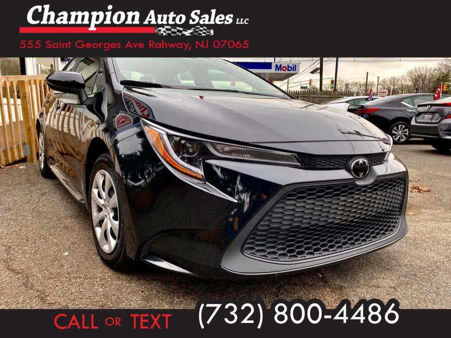 Used 2020 Toyota Corolla in Rahway, New Jersey | Champion Auto Sales. Rahway, New Jersey
