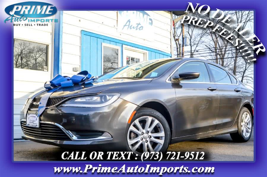 Used Chrysler 200 4dr Sdn Limited FWD 2015 | Prime Auto Imports. Bloomingdale, New Jersey