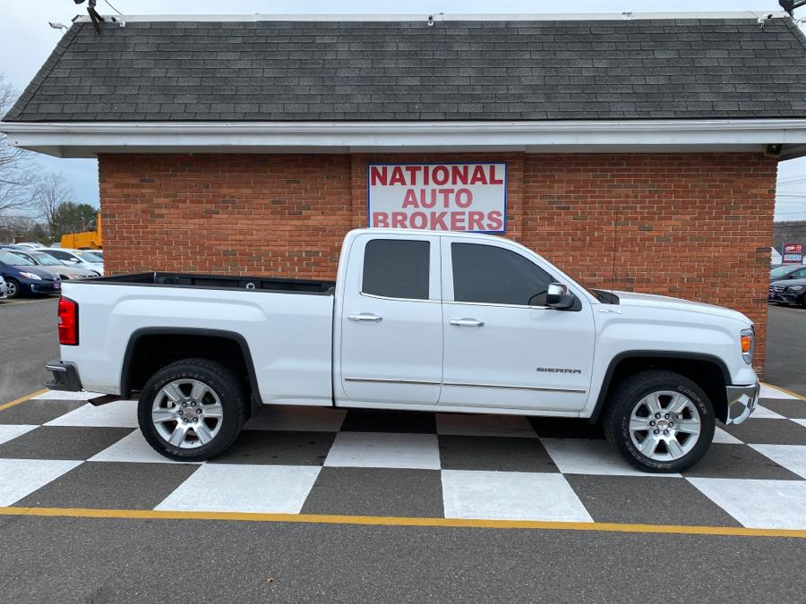 Used GMC Sierra 1500 4WD Double Cab SLT 2015 | National Auto Brokers, Inc.. Waterbury, Connecticut