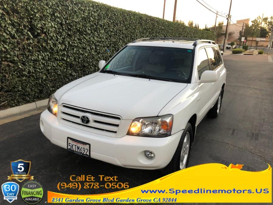 Used 2005 Toyota Highlander in Garden Grove, California | Speedline Motors. Garden Grove, California