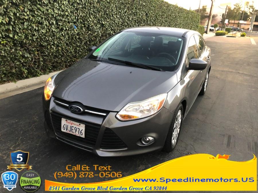 Used Ford Focus 4dr Sdn SE 2012 | Speedline Motors. Garden Grove, California