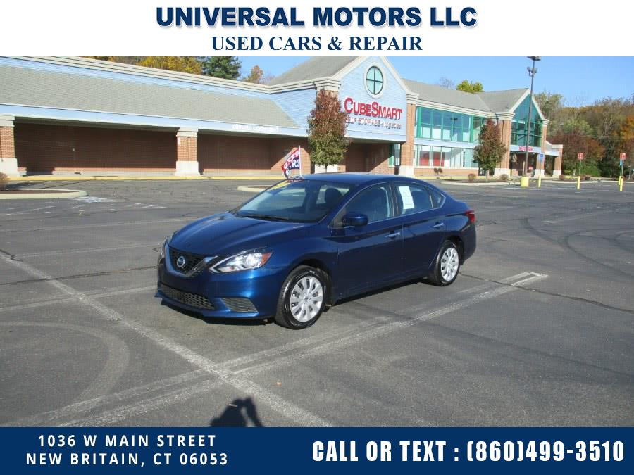 Used 2017 Nissan Sentra in New Britain, Connecticut | Universal Motors LLC. New Britain, Connecticut