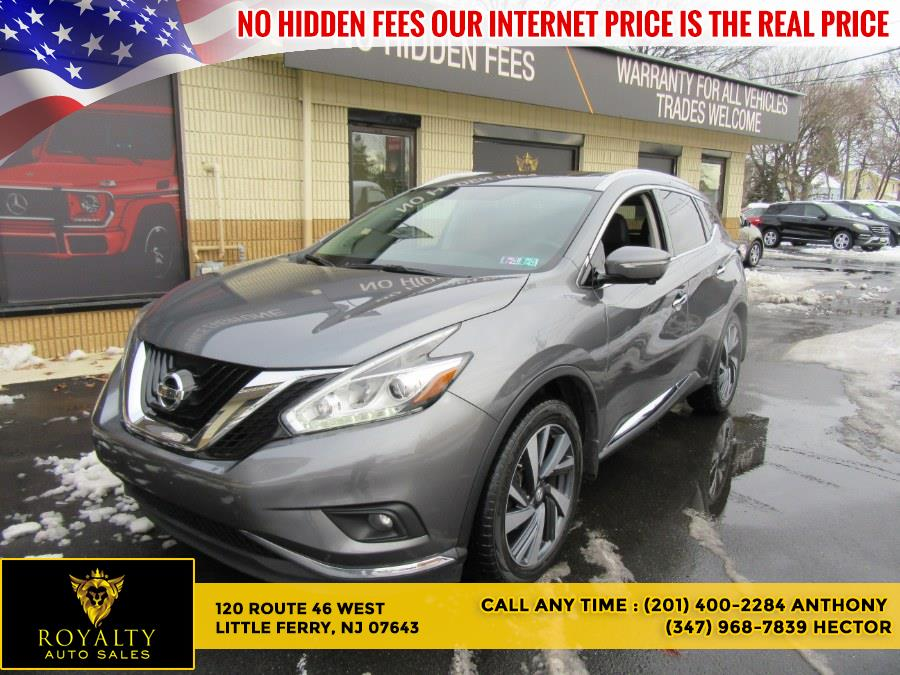 Used 2015 Nissan Murano in Little Ferry, New Jersey | Royalty Auto Sales. Little Ferry, New Jersey