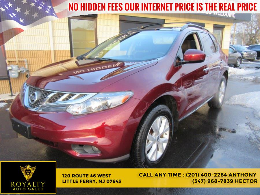 Used 2012 Nissan Murano in Little Ferry, New Jersey | Royalty Auto Sales. Little Ferry, New Jersey