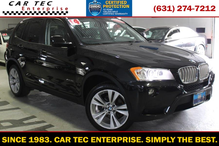 Used 2014 BMW X3 in Deer Park, New York | Car Tec Enterprise Leasing & Sales LLC. Deer Park, New York